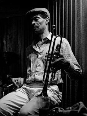Woody Shaw, Bass Clef, London, 1987 by Brian O'Connor