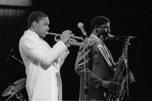 Wynton Marsalis (T Williams), Capital Jazz Festival, Rfh, London, 1988 by Brian O'Connor