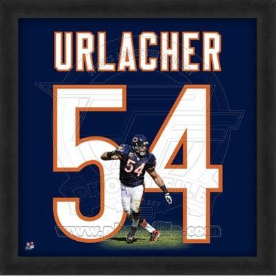 Brian Urlacher, Bears photographic representation of the player's jersey