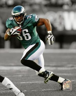 Brian Westbrook 2009 Spotlight Action