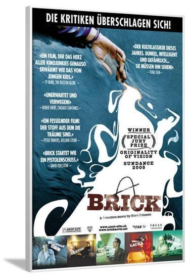 Brick - Swiss Style--Framed Poster