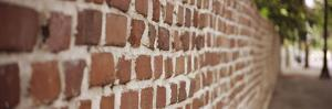 Brick Wall Surrounding Ernest Hemingway House on Whitehead Street, Key West, Monroe County, Flor...