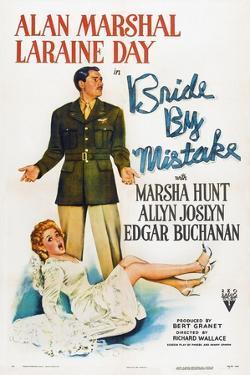 Bride by Mistake, Laraine Day, Alan Marshal, 1944