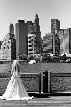 Bride in Dumbo NYC