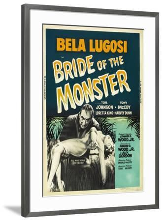 Bride of the Monster--Framed Poster