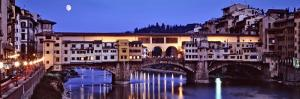 Bridge across Arno River, Ponte Vecchio, Florence, Tuscany, Italy