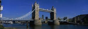 Bridge Across the River, Tower Bridge, Thames River, London, England