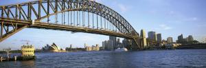 Bridge and City, Sydney Harbor, Sydney, New South Wales, Australia