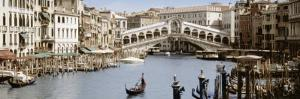 Bridge Over a Canal, Rialto Bridge, Venice, Veneto, Italy