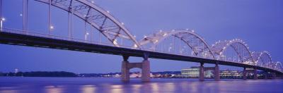 Bridge over a River, Centennial Bridge, Davenport, Iowa, USA