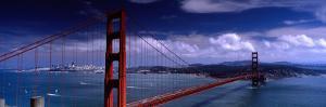 Bridge Over a River, Golden Gate Bridge, San Francisco, California, USA