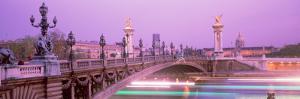 Bridge over a River, Seine River, Paris, France