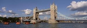 Bridge Over a River, Tower Bridge, Thames River, London, England, United Kingdom