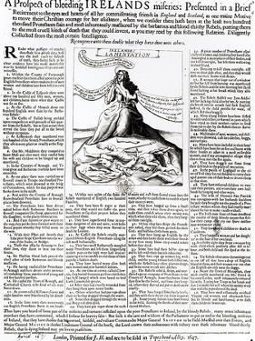 Brief About Ireland's Miseries, 1647