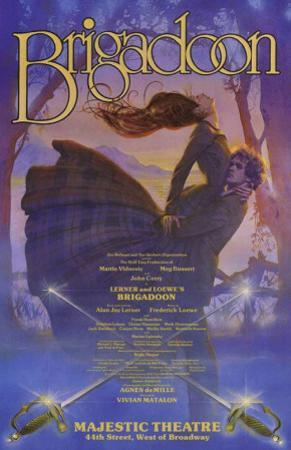 Brigadoon - Broadway Poster , 1980