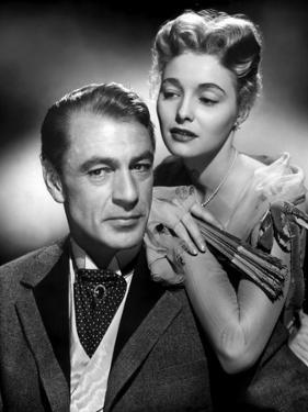 BRIGHT LEAF, 1950 directed by MICHAEL CURTIZ Gary Cooper / Patricia Neal (b/w photo)