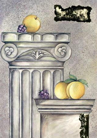 Fruits and Stones IV