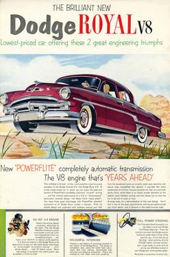 Brilliant Dodge Royal V8