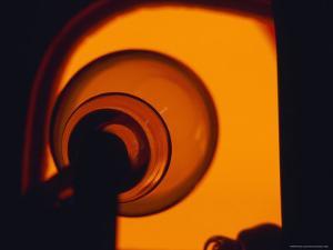 Artist Blowing Glass, Copenhagen, Denmark by Brimberg & Coulson