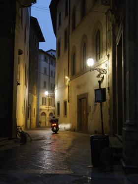 Street Scene at Night, Florence, Italy by Brimberg & Coulson
