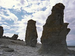 Sweden, Northern Gotland, Faro, Rock Formations by Brimberg & Coulson
