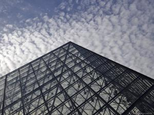 the Louvre Museum and the Im Pei Pyramid, Paris, France by Brimberg & Coulson