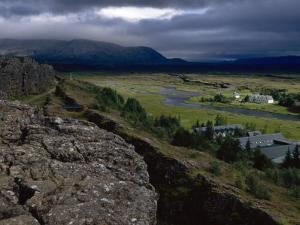 Thingvellir, Iceland, Site of the Original Parliament by Brimberg & Coulson