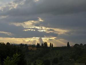 Views of Tuscany Landscape near Florence, Italy by Brimberg & Coulson