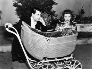 Bringing Up Baby, Cary Grant, Katharine Hepburn, 1938