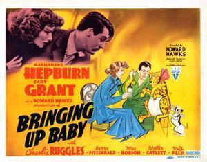 Bringing Up Baby, Katharine Hepburn, Cary Grant, 1938