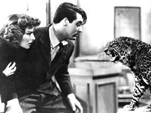 Bringing Up Baby, Katharine Hepburn, Cary Grant, Baby The Leopard, 1938
