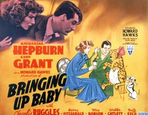 Bringing Up Baby - Lobby Card Reproduction