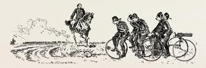 Bringing Up the Guns, Bicycle, Bicycles, 1888