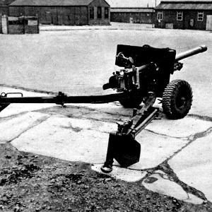 British 6-Pounder Anti-Tank Gun; Second World War, 1944