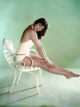 British actress Joan Collins 1956 (photo)