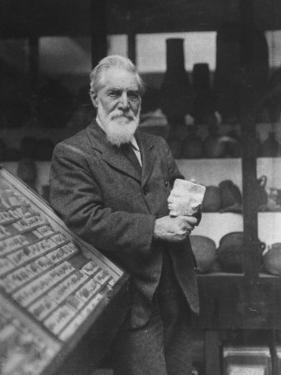 British Archaeologist and Egyptologist Sir Flinders Petrie