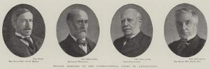 British Members of the International Court of Arbitration