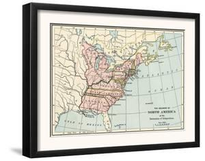 British North American Colonies in 1776