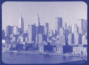 New York City In Winter VI In Colour by British Pathe