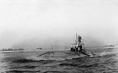 British Submarine B1