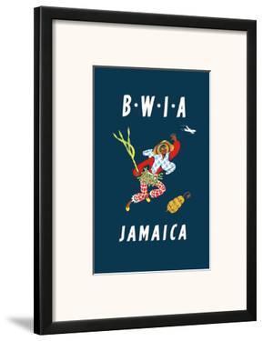 British West Indies Airways: BWIA Jamaica, c.1962