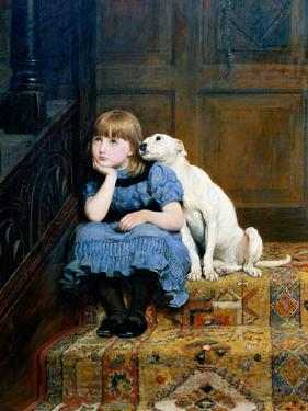 Sympathy, 1877 by Briton Rivi?re