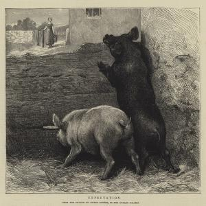 Expectation by Briton Riviere