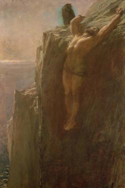 Prometheus Bound, 1889 by Briton Riviere