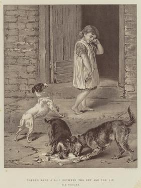 There's Many a Slip Between the Cup and the Lip by Briton Riviere