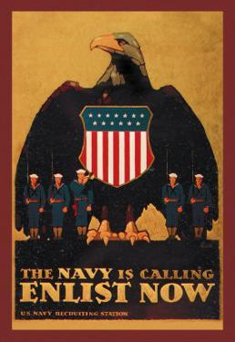 The Navy is Calling: Enlist Now by Britton