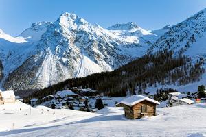Winter in Swiss Alps by britvich