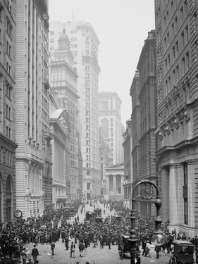 Broad Street, New York City, C.1905