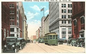 Broadway, St. Louis, Missouri