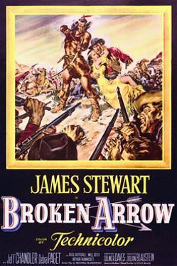 Broken Arrow - Movie Poster Reproduction